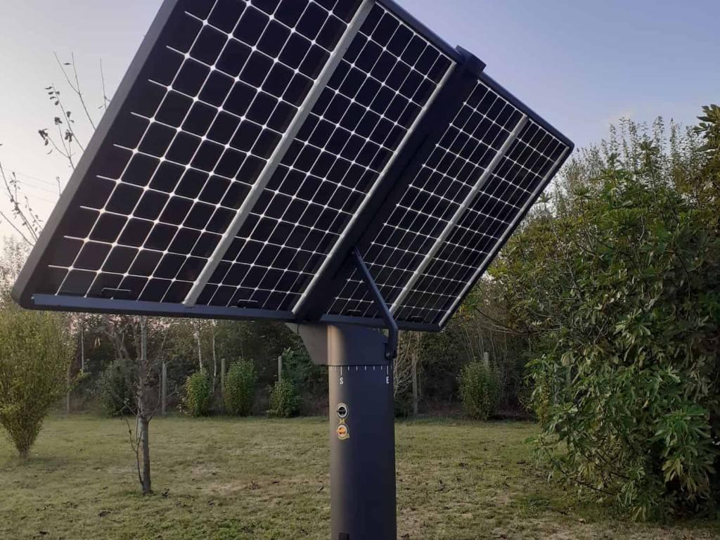 Panneau solaire monocristallin biface Lumioo