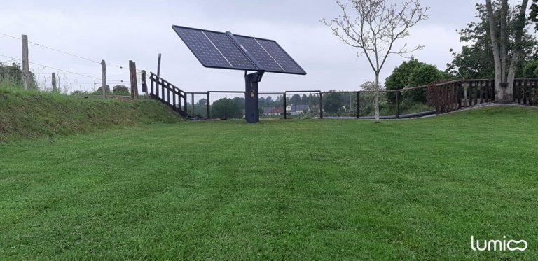 tracker solaire Lumioo pour l'autoconsommation photovoltaique