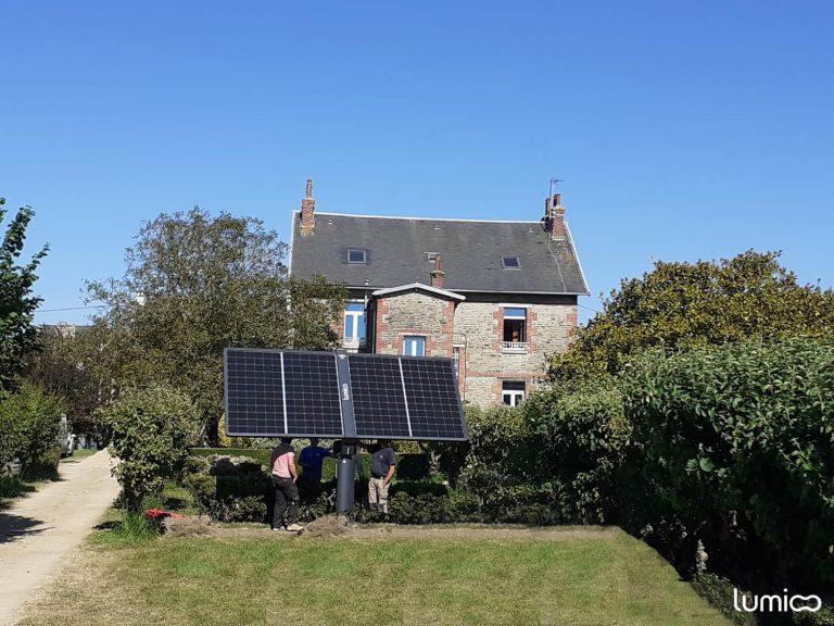 suiveur solaire photovoltaique Lumioo