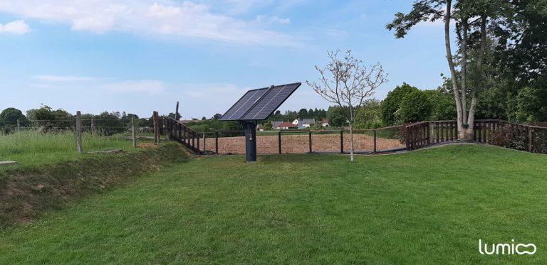 tracker photovoltaique pour l'autoconsommation solaire Lumioo