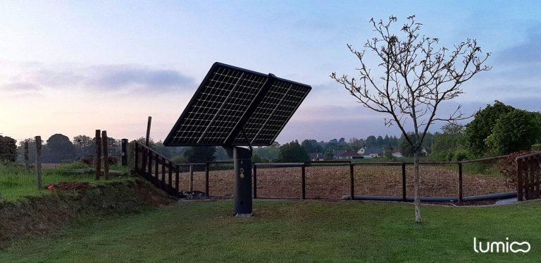 traqueur solaire photovoltaique autoconsommation lumioo