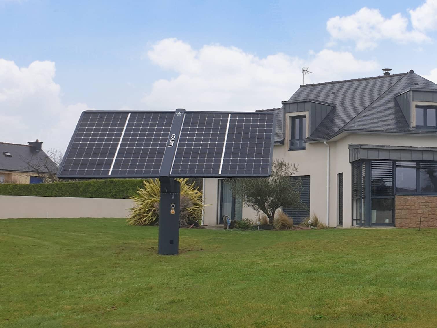 Les dernières installations du tracker solaire Lumioo en vidéo