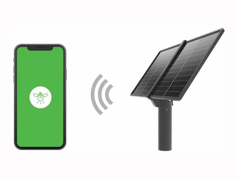 Tracker solaire Lumioo connexion Internet