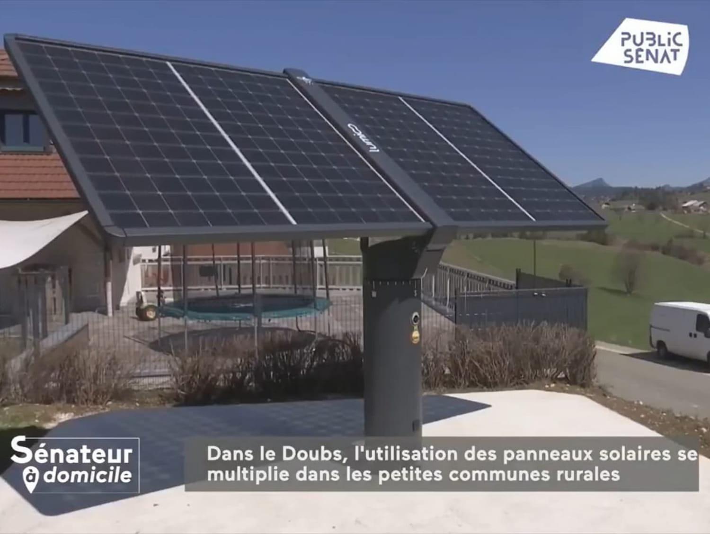 Reportage TV : Le tracker solaire dans le Haut-Doubs
