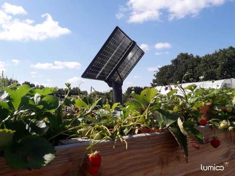 Tracker solaire d'Olivier, client solaire Lumioo